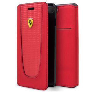 Funda Flip Cover IPhone 7 Plus / IPhone 8 Plus Licencia Ferrari Rojo
