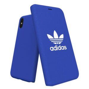 Funda Flip Cover IPhone X / IPhone XS Licencia Adidas Azul