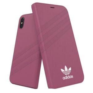 Funda Flip Cover IPhone X / IPhone XS Licencia Adidas Rosa