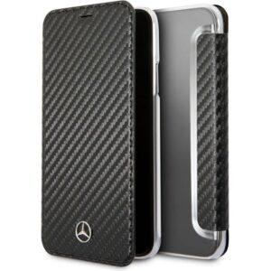 Funda Flip Cover IPhone X / IPhone XS Licencia Mercedes-Benz Negro
