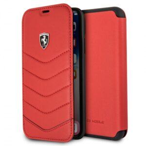 Funda Flip Cover IPhone XS Max Licencia Ferrari Rojo