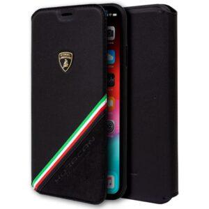 Funda Flip Cover IPhone XS Max Licencia Lamborghini