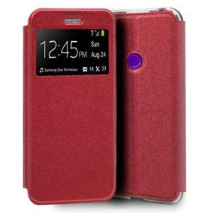 Funda Flip Cover Realme 5 Pro Liso Rojo