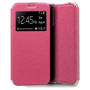 Funda Flip Cover Realme 7 5G Liso Rosa