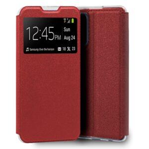 Funda Flip Cover Realme 7 Liso Rojo
