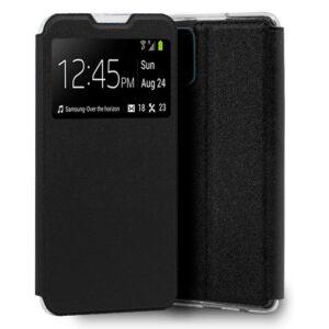 Funda Flip Cover Realme 7 Pro Liso Negro