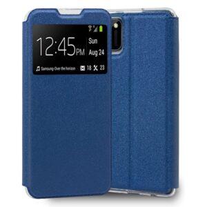 Funda Flip Cover Realme C11 Liso Azul