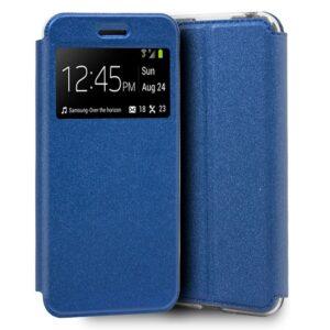 Funda Flip Cover Samsung A105 Galaxy A10 Liso Azul