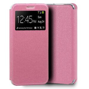 Funda Flip Cover Samsung A105 Galaxy A10 Liso Rosa