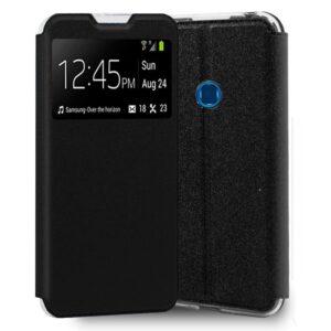 Funda Flip Cover Samsung A207 Galaxy A20s Liso Negro