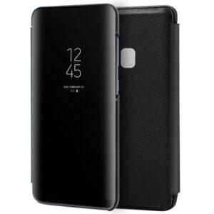 Funda Flip Cover Samsung A217 Galaxy A21s Clear View Negro