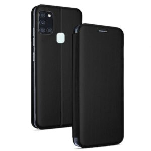 Funda Flip Cover Samsung A217 Galaxy A21s Elegance Negro