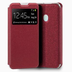 Funda Flip Cover Samsung A217 Galaxy A21s Liso Rojo