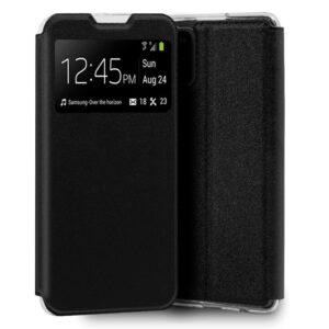 Funda Flip Cover Samsung A315 Galaxy A31 Liso Negro