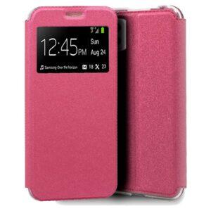 Funda Flip Cover Samsung A426 Galaxy A42 5G Liso Rosa