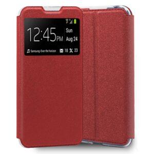 Funda Flip Cover Samsung A505 Galaxy A50 / A30s Liso Rojo