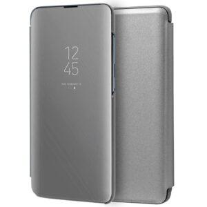 Funda Flip Cover Samsung A515 Galaxy A51 Clear View Plata