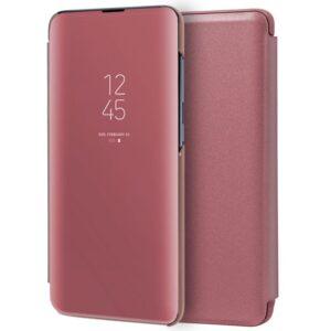 Funda Flip Cover Samsung A515 Galaxy A51 Clear View Rosa