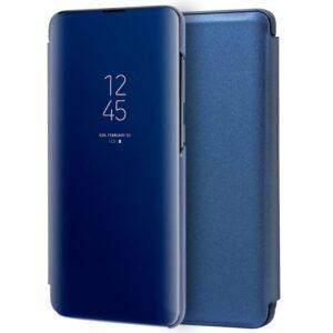 Funda Flip Cover Samsung A715 Galaxy A71 Clear View Azul