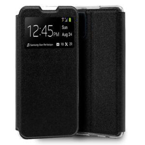 Funda Flip Cover Samsung A715 Galaxy A71 Liso Negro