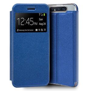 Funda Flip Cover Samsung A805 Galaxy A80 Liso Azul