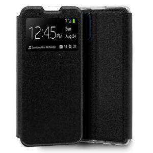 Funda Flip Cover Samsung A908 Galaxy A90 5G Liso Negro