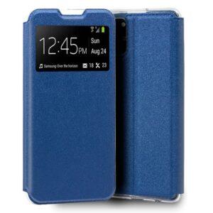 Funda Flip Cover Samsung G770 Galaxy S10 Lite Liso Azul