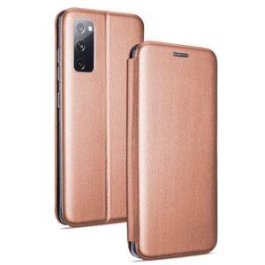 Funda Flip Cover Samsung G780 Galaxy S20 FE Elegance Rose Gold