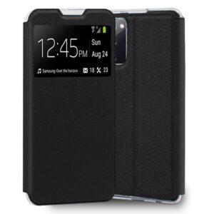 Funda Flip Cover Samsung G780 Galaxy S20 FE Liso Negro