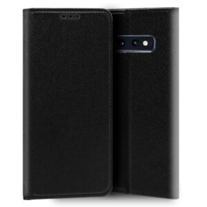 Funda Flip Cover Samsung G970 Galaxy S10e Liso Negro