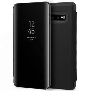 Funda Flip Cover Samsung G973 Galaxy S10 Clear View Negro