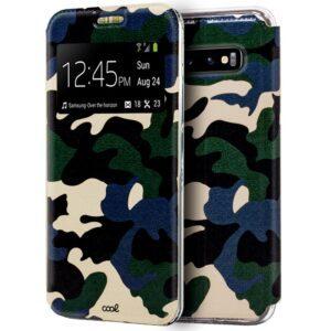 Funda Flip Cover Samsung G973 Galaxy S10 Dibujos Militar