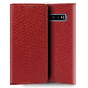 Funda Flip Cover Samsung G975 Galaxy S10 Plus Liso Rojo