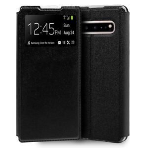Funda Flip Cover Samsung G977 Galaxy S10 5G Liso Negro