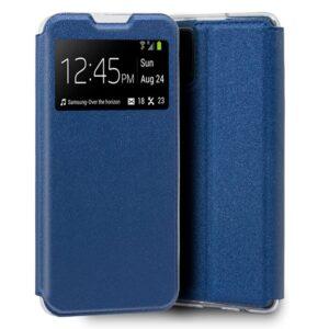 Funda Flip Cover Samsung G980 Galaxy S20 Liso Azul