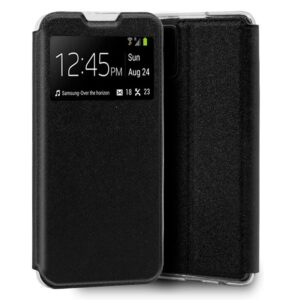 Funda Flip Cover Samsung G980 Galaxy S20 Liso Negro