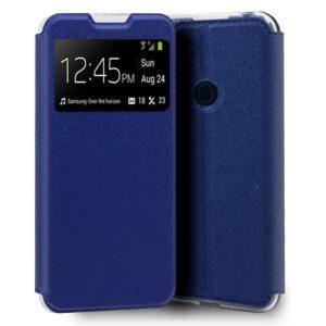 Funda Flip Cover Samsung M215 Galaxy M21 Liso Azul