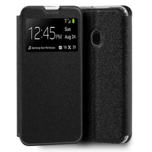 Funda Flip Cover Samsung M215 Galaxy M21 Liso Negro
