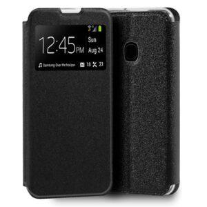 Funda Flip Cover Samsung M315 Galaxy M31 Liso Negro