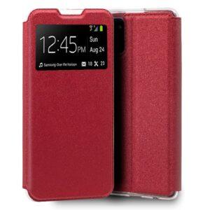 Funda Flip Cover Samsung N770 Galaxy Note 10 Lite Liso Rojo