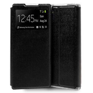 Funda Flip Cover Samsung N975 Galaxy Note 10 Plus Liso Negro