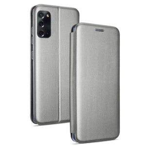 Funda Flip Cover Samsung N980 Galaxy Note 20 Elegance Plata