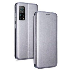 Funda Flip Cover Xiaomi Mi 10T / Mi 10T Pro Elegance Plata