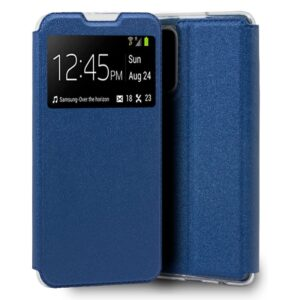Funda Flip Cover Xiaomi Mi 10T / Mi 10T Pro Liso Azul