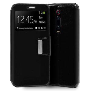 Funda Flip Cover Xiaomi Mi 9T / Mi 9T Pro Liso  Negro