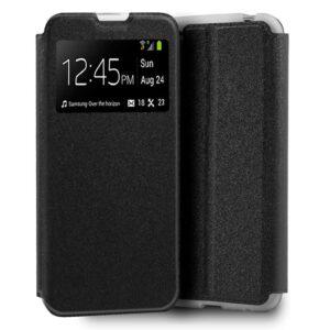 Funda Flip Cover Xiaomi Mi Note 10 Lite Liso Negro
