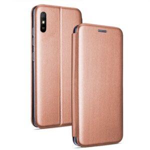 Funda Flip Cover Xiaomi Redmi 9A / 9AT Elegance Rose Gold