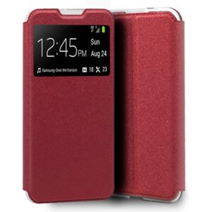 Funda Flip Cover Xiaomi Redmi 9A / 9AT Liso Rojo