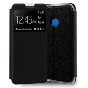Funda Flip Cover Xiaomi Redmi 9C Liso Negro