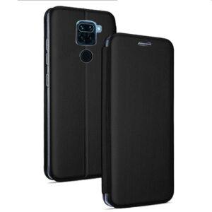 Funda Flip Cover Xiaomi Redmi Note 9 Elegance Negro